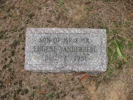 VANDERBERG, SON - Woodruff County, Arkansas   SON VANDERBERG - Arkansas Gravestone Photos