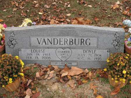 VANDERBURG, LOUISE - Woodruff County, Arkansas | LOUISE VANDERBURG - Arkansas Gravestone Photos