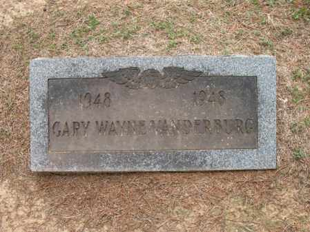 VANDERBURG, GARY WAYNE - Woodruff County, Arkansas | GARY WAYNE VANDERBURG - Arkansas Gravestone Photos