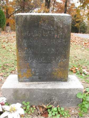 VANDERBURG, LOUIS MONROE - Woodruff County, Arkansas | LOUIS MONROE VANDERBURG - Arkansas Gravestone Photos