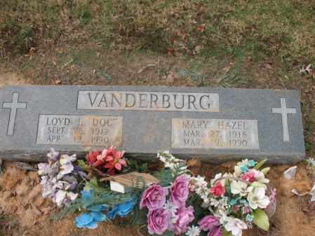 VANDERBURG, MARY HAZEL - Woodruff County, Arkansas | MARY HAZEL VANDERBURG - Arkansas Gravestone Photos