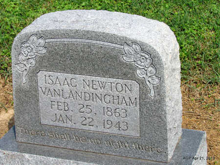 VANLANDINGHAM, ISAAC NEWTON - Woodruff County, Arkansas | ISAAC NEWTON VANLANDINGHAM - Arkansas Gravestone Photos