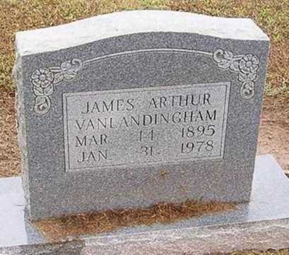 VANLANDINGHAM, JAMES ARTHUR - Woodruff County, Arkansas | JAMES ARTHUR VANLANDINGHAM - Arkansas Gravestone Photos