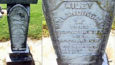 VANLANDINGHAM, WILEY - Woodruff County, Arkansas | WILEY VANLANDINGHAM - Arkansas Gravestone Photos