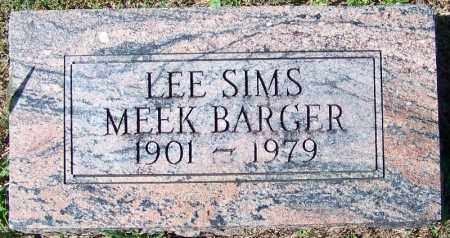 BARGER, LEE SIMS - Yell County, Arkansas | LEE SIMS BARGER - Arkansas Gravestone Photos