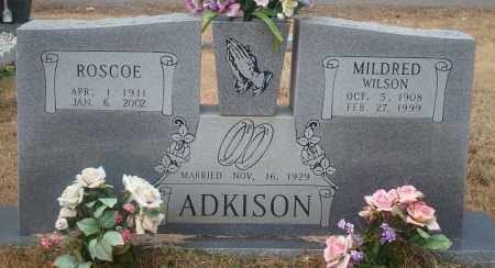 WILSON ADKINSON, MILDRED - Yell County, Arkansas | MILDRED WILSON ADKINSON - Arkansas Gravestone Photos