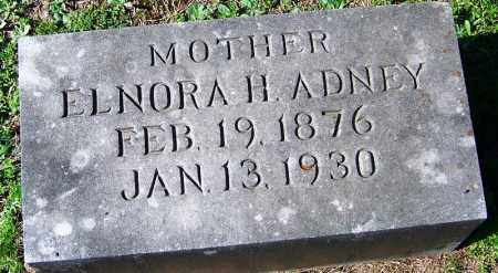 ADNEY, ELNORA H - Yell County, Arkansas | ELNORA H ADNEY - Arkansas Gravestone Photos