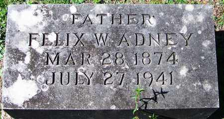 ADNEY, FELIX W - Yell County, Arkansas | FELIX W ADNEY - Arkansas Gravestone Photos
