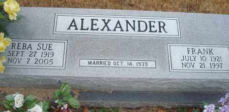 ALEXANDER, REBA SUE - Yell County, Arkansas | REBA SUE ALEXANDER - Arkansas Gravestone Photos