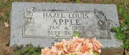 LOUIS APPLE, HAZEL - Yell County, Arkansas | HAZEL LOUIS APPLE - Arkansas Gravestone Photos