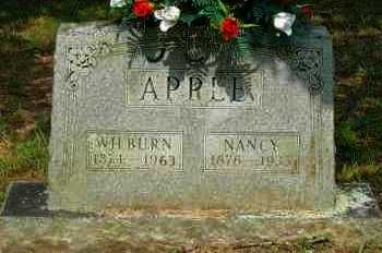 APPLE, WILBURN - Yell County, Arkansas | WILBURN APPLE - Arkansas Gravestone Photos
