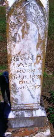 ASH, REV, N D - Yell County, Arkansas | N D ASH, REV - Arkansas Gravestone Photos