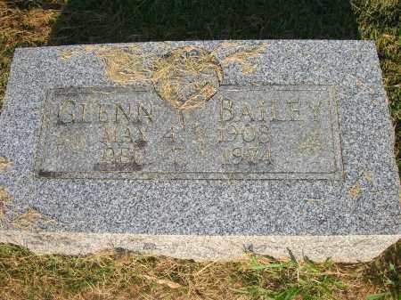BAILEY, GLENN - Yell County, Arkansas | GLENN BAILEY - Arkansas Gravestone Photos