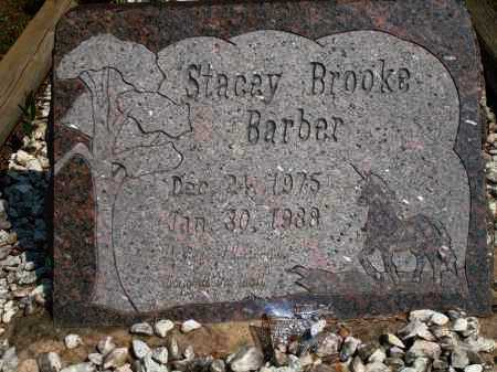 BARBER, STACEY BROOKE - Yell County, Arkansas | STACEY BROOKE BARBER - Arkansas Gravestone Photos
