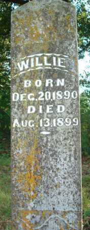 BARNES, WILLIE - Yell County, Arkansas | WILLIE BARNES - Arkansas Gravestone Photos