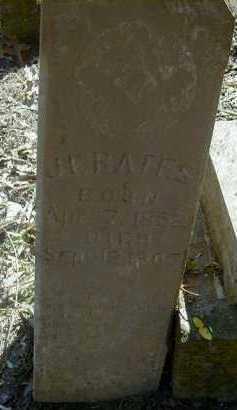 BATES, JAMES FILMORE - Yell County, Arkansas | JAMES FILMORE BATES - Arkansas Gravestone Photos