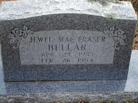 FRASER BELLAR, JEWEL MAE - Yell County, Arkansas   JEWEL MAE FRASER BELLAR - Arkansas Gravestone Photos