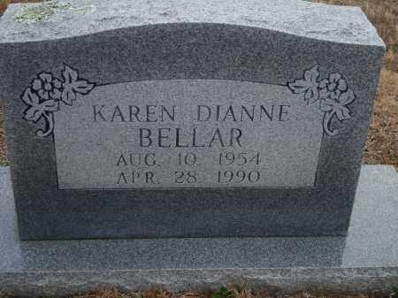 BELLAR, KAREN DIANNE - Yell County, Arkansas | KAREN DIANNE BELLAR - Arkansas Gravestone Photos