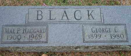 BLACK, GEORGE C. - Yell County, Arkansas | GEORGE C. BLACK - Arkansas Gravestone Photos
