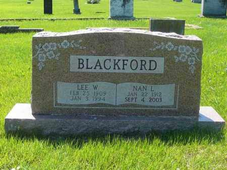 BLACKFORD, LEE - Yell County, Arkansas | LEE BLACKFORD - Arkansas Gravestone Photos