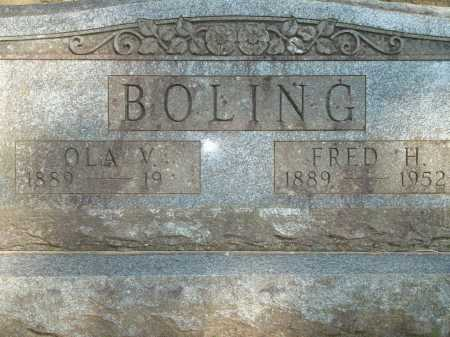 BOLING, OLA V. - Yell County, Arkansas | OLA V. BOLING - Arkansas Gravestone Photos