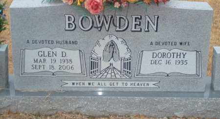 BOWDER, GLEN D - Yell County, Arkansas | GLEN D BOWDER - Arkansas Gravestone Photos