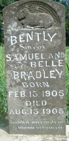 BRADLEY, BENTLY - Yell County, Arkansas | BENTLY BRADLEY - Arkansas Gravestone Photos