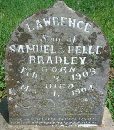 BRADLEY, LAWRENCE - Yell County, Arkansas | LAWRENCE BRADLEY - Arkansas Gravestone Photos