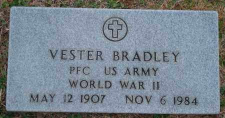BRADLEY (VETERAN WWII), VESTER - Yell County, Arkansas   VESTER BRADLEY (VETERAN WWII) - Arkansas Gravestone Photos