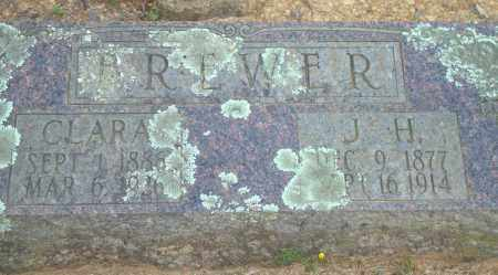 BREWER, CLARA - Yell County, Arkansas | CLARA BREWER - Arkansas Gravestone Photos