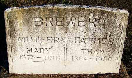 BREWER, THAD - Yell County, Arkansas | THAD BREWER - Arkansas Gravestone Photos