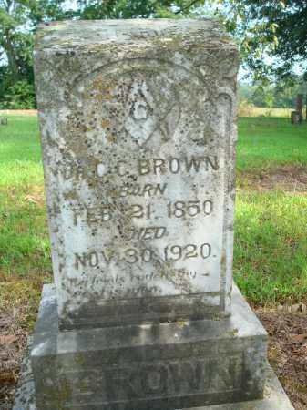 BROWN, C.C. - Yell County, Arkansas | C.C. BROWN - Arkansas Gravestone Photos