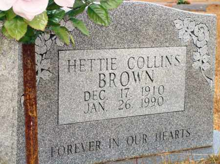 COLLINS BROWN, HETTIE - Yell County, Arkansas | HETTIE COLLINS BROWN - Arkansas Gravestone Photos