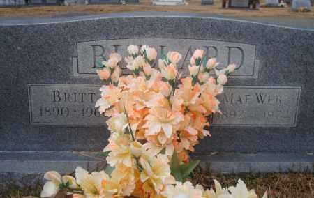 BULLARD, BRITT - Yell County, Arkansas | BRITT BULLARD - Arkansas Gravestone Photos