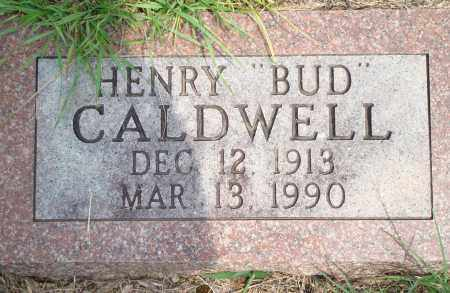 "CALDWELL, HENRY ""BUD"" - Yell County, Arkansas 