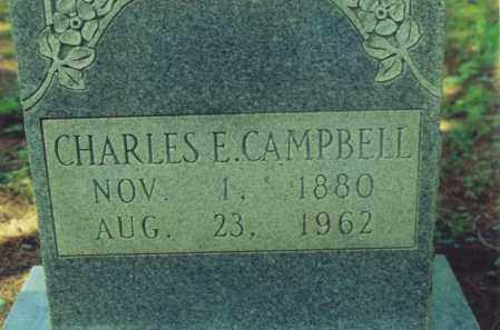 CAMPBELL, CHARLES E. - Yell County, Arkansas | CHARLES E. CAMPBELL - Arkansas Gravestone Photos