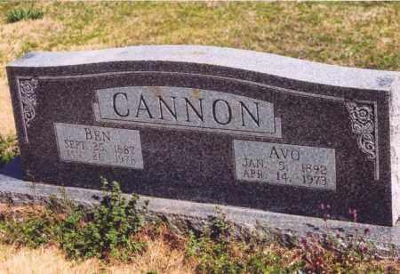 CANNON, BEN - Yell County, Arkansas | BEN CANNON - Arkansas Gravestone Photos