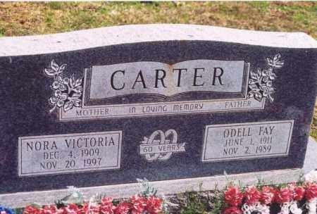 CARTER, NORA VICTORIA - Yell County, Arkansas | NORA VICTORIA CARTER - Arkansas Gravestone Photos