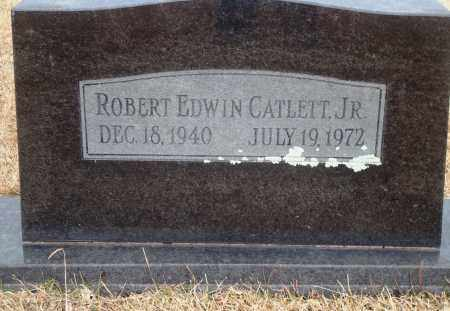 CATLETT, JR, ROBERT EDWIN - Yell County, Arkansas | ROBERT EDWIN CATLETT, JR - Arkansas Gravestone Photos