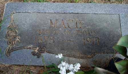 CHOATE, MACIE - Yell County, Arkansas | MACIE CHOATE - Arkansas Gravestone Photos