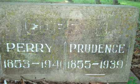 COFFEY, PRUDENCE - Yell County, Arkansas | PRUDENCE COFFEY - Arkansas Gravestone Photos
