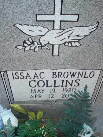 COLLINS, ISSAAC BROWNLO - Yell County, Arkansas | ISSAAC BROWNLO COLLINS - Arkansas Gravestone Photos