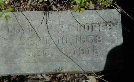 COOPER, NANCY - Yell County, Arkansas | NANCY COOPER - Arkansas Gravestone Photos