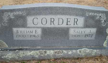 CORDER, WILLIAM E. - Yell County, Arkansas | WILLIAM E. CORDER - Arkansas Gravestone Photos