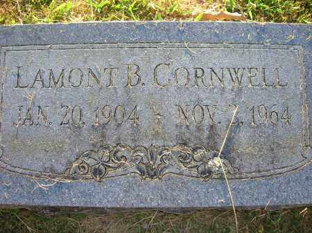 CORNWELL, LAMONT B - Yell County, Arkansas | LAMONT B CORNWELL - Arkansas Gravestone Photos