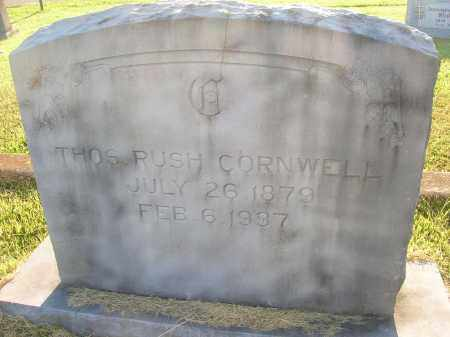 CORNWELL, THOMAS RUSH - Yell County, Arkansas | THOMAS RUSH CORNWELL - Arkansas Gravestone Photos