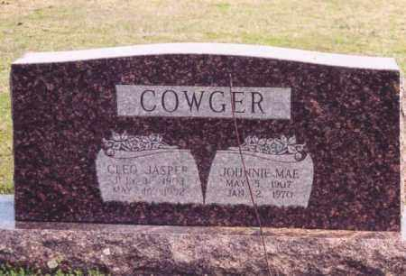 COWGER, CLEO JASPER - Yell County, Arkansas   CLEO JASPER COWGER - Arkansas Gravestone Photos