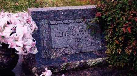 CRAWFORD, LILLIE - Yell County, Arkansas | LILLIE CRAWFORD - Arkansas Gravestone Photos