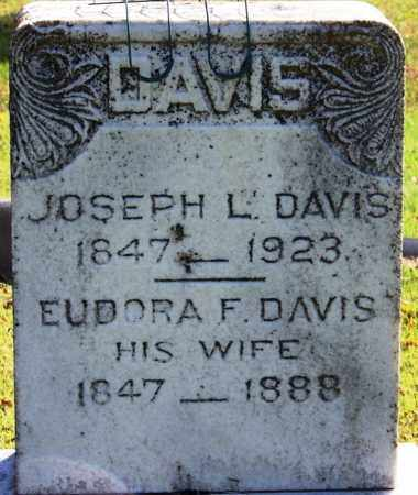 DAVIS (VETERAN CSA), JOSEPH L - Yell County, Arkansas | JOSEPH L DAVIS (VETERAN CSA) - Arkansas Gravestone Photos