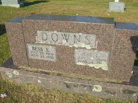 MASTERS DOWNS, BESSIE ELLEN - Yell County, Arkansas | BESSIE ELLEN MASTERS DOWNS - Arkansas Gravestone Photos